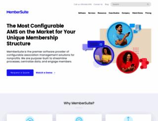 membersuite.com screenshot