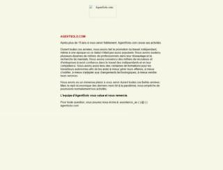 membres.agentsolo.com screenshot