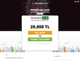 memicon.com screenshot