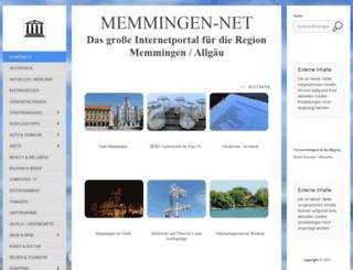 memmingen-net.de screenshot