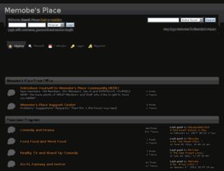 memobeplace.createaforum.com screenshot