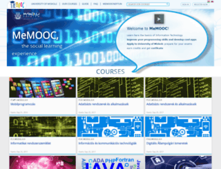 memooc.hu screenshot