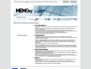 memorg.com screenshot