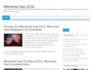 memorialday2016date.com screenshot
