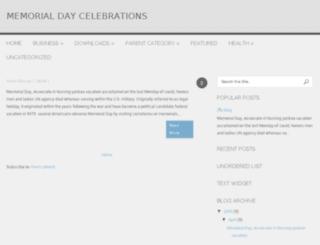 memorialdaycelebrations.blogspot.in screenshot