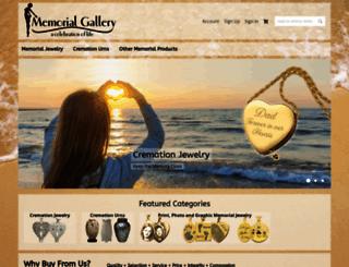 memorialgallery.com screenshot