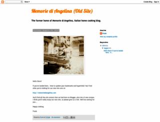 memoriediangelina.blogspot.com screenshot