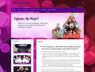 memoriesbybetsy.com screenshot