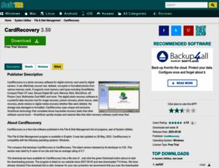 memory-card-recovery-pro.soft112.com screenshot