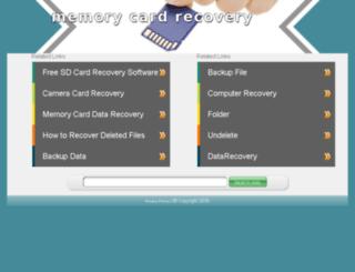 memory-cardrecovery.net screenshot