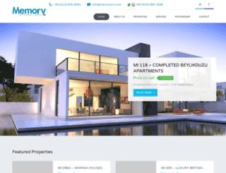 memory-international.com screenshot