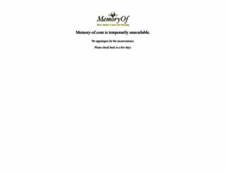 memory-of.com screenshot