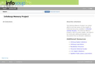memory.infosoup.org screenshot