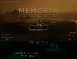 memorya.org screenshot
