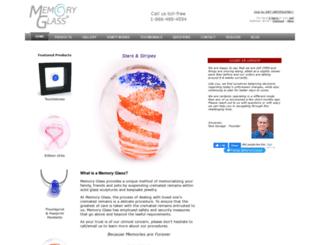 memoryglass.com screenshot