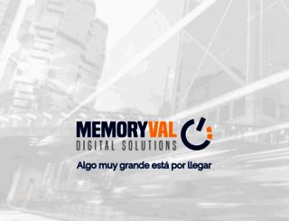 memoryval.com screenshot