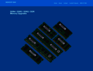 memoryx.com screenshot