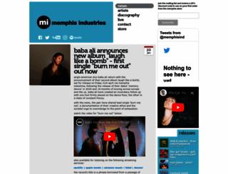 memphis-industries.com screenshot