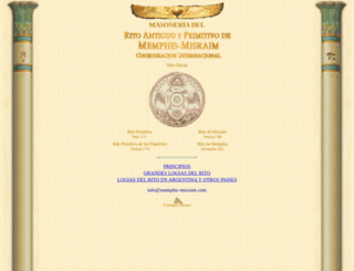 memphis-misraim.com screenshot