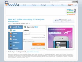 memphis.ebuddy.com screenshot