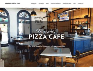memphispizzacafe.com screenshot