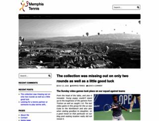 memphistennis.com screenshot