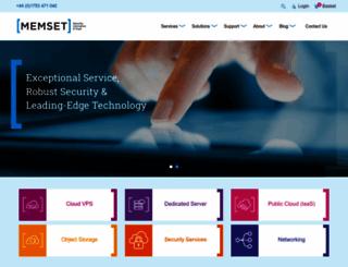 memset.net screenshot