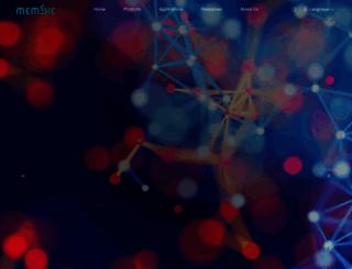 memsic.com screenshot