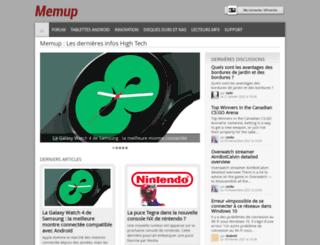 memup.fr screenshot