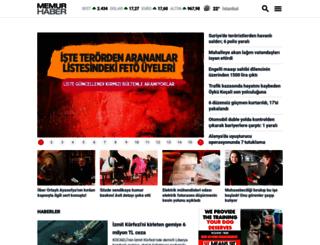memurhaber.com screenshot