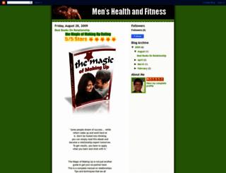 men-health-and-fitness.blogspot.com screenshot