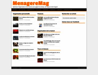 menageremag.com screenshot
