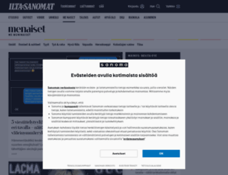 menaiset.fi screenshot