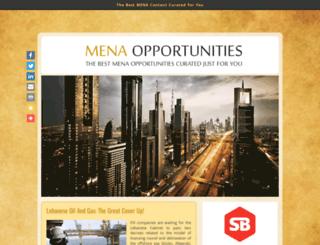 menaopportunities.info screenshot