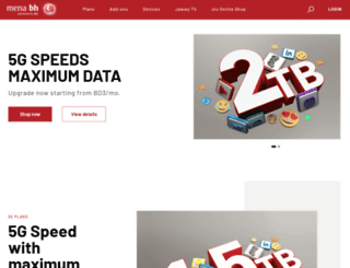 menatelecom.com screenshot