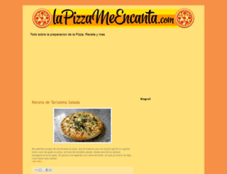 mencantalapizza.blogspot.com.es screenshot