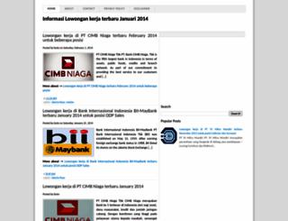 mencari-info-kerja.blogspot.com screenshot