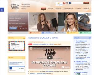 mendlak.cz screenshot