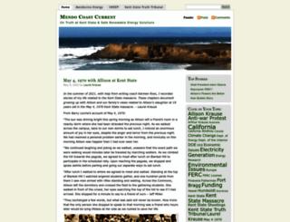 mendocoastcurrent.wordpress.com screenshot