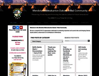 mendotadakota.com screenshot