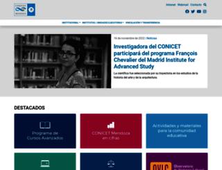 mendoza-conicet.gob.ar screenshot