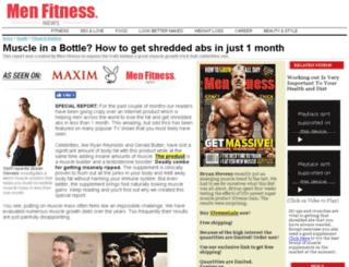 menfitnessnews.com screenshot