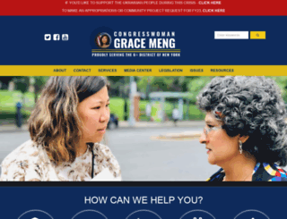 meng.house.gov screenshot