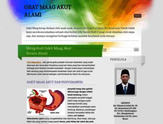 mengobatimaagakut.wordpress.com screenshot