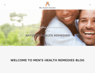menhealthremedies.com screenshot
