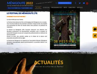 menigoute-festival.org screenshot