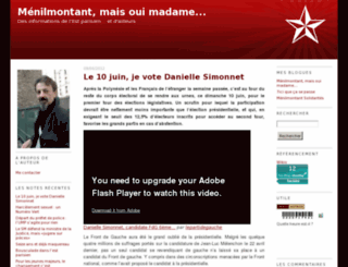 menilmontant.numeriblog.fr screenshot