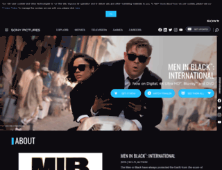 meninblack.com screenshot