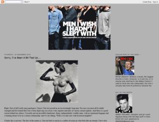 meniwishihadntsleptwith.blogspot.com screenshot