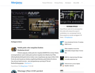 menjamu.blogspot.com screenshot